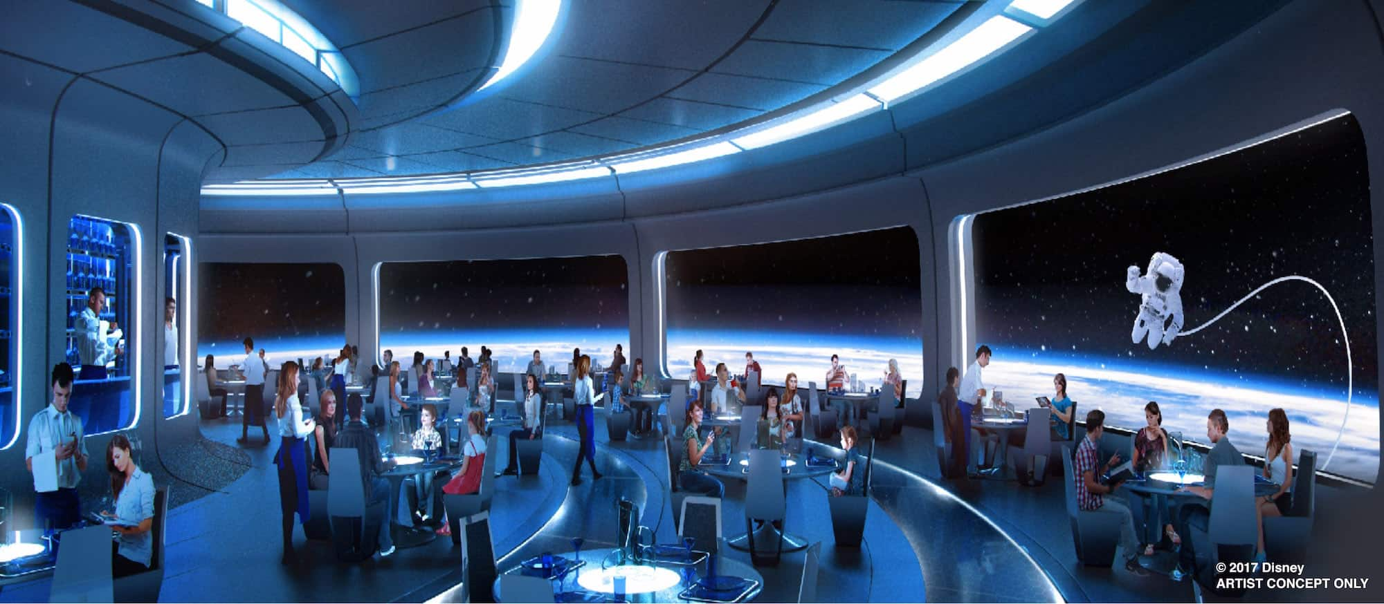 First Look New Space Restaurant To Offer Out Of This World Dining