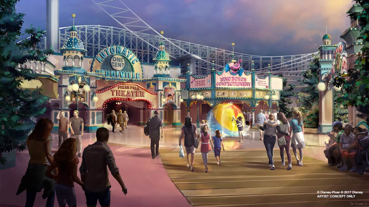 Experience the magical worlds of Pixar in brand new ways at the new Pixar  Pier, coming to Disney California Adventure park in 2018!