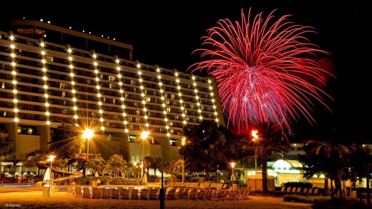 Three New Year's Eve Celebrations at Disney's Contemporary Resort