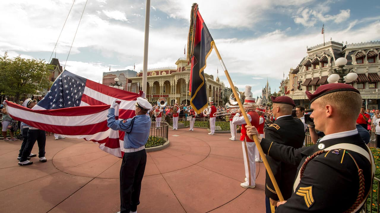 Elite U S  Army 82nd Airborne Division Honored at Walt Disney World