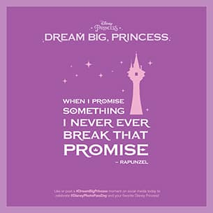 """""""Dream Big, Princess"""" Launching New Global Photography Campaign"""
