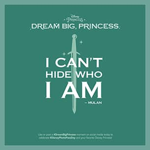 """Dream Big, Princess"" Launching New Global Photography Campaign"