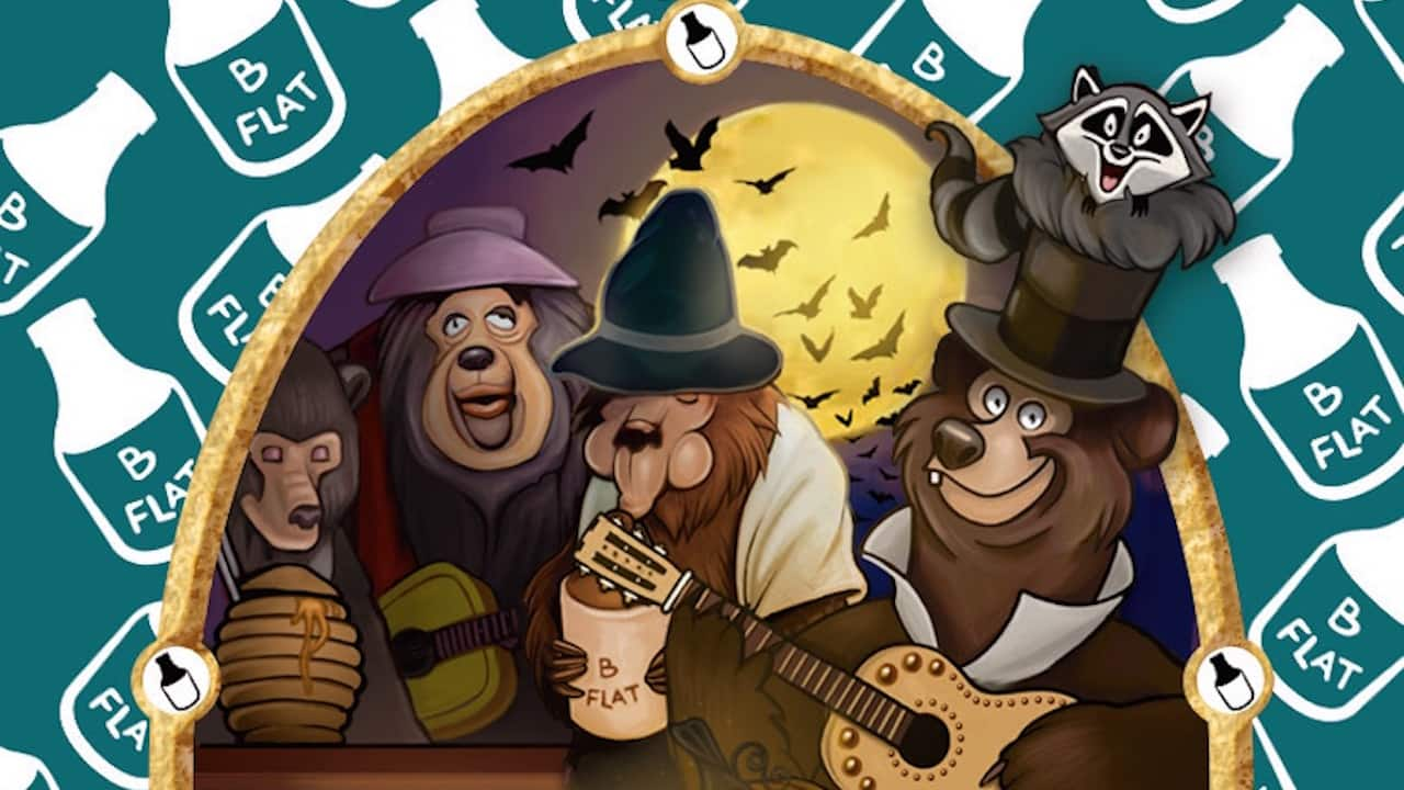 'Country Bear' Sorcerers of the Magic Kingdom Card