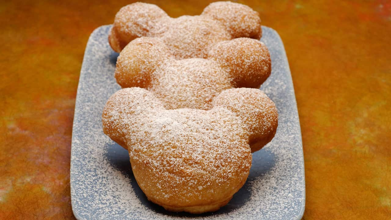 Mickey Mouse-Shaped Beignets