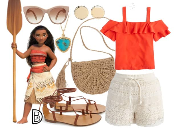 DisneyBound - Moana