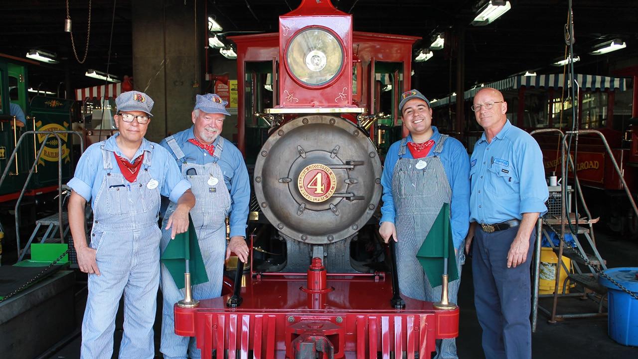 Train with engineers