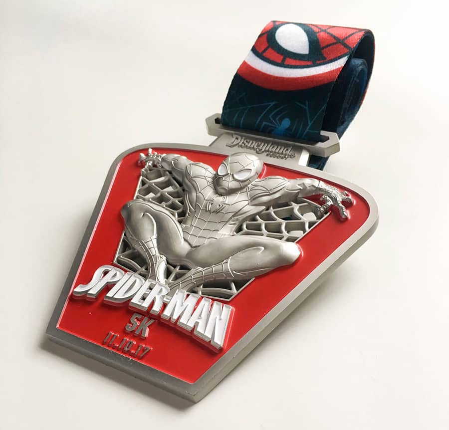 Power-Packed Medals Revealed for the 2017 Super Heroes Half Marathon Weekend at Disneyland Resort
