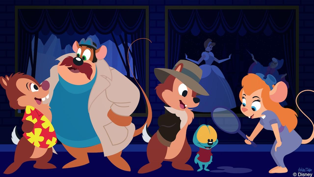 Disney Doodles: Rescue Rangers