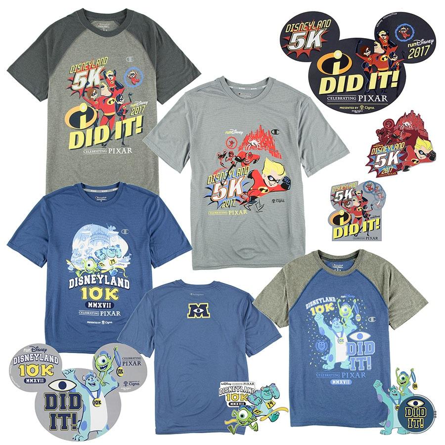 Celebrating Pixar with Commemorative Products for the 2017 Disneyland Half Marathon Weekend