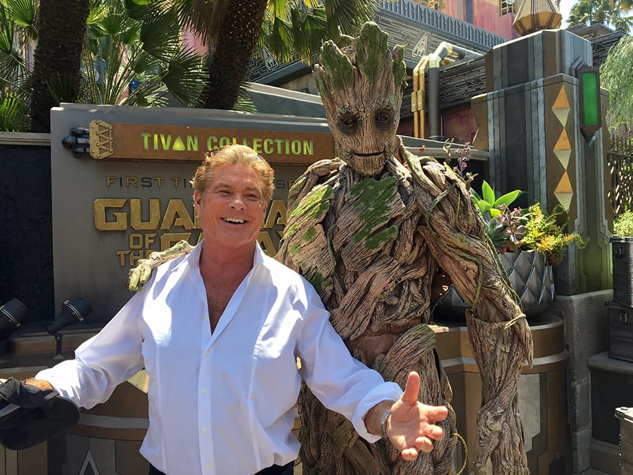 David Hasselhoff is On a Mission at Disney California Adventure Park
