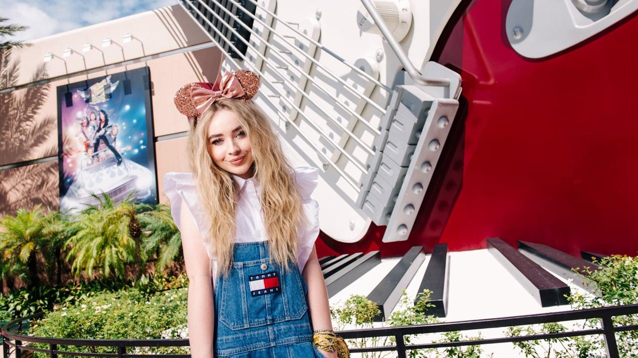 Sabrina Carpenter visits Walt Disney World