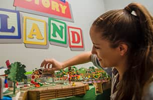 All in the Details: Imagineers Put Final Touches On The Toy Story Land Model For Walt Disney Presents