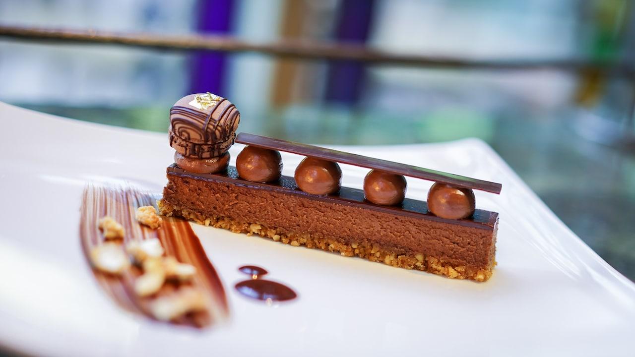 Scharffen Berger Dark Chocolate Cheesecake from Napa Rose at Disney's Grand Californian Hotel & Spa