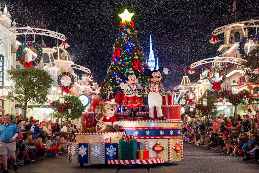 mickeys once upon a christmastime parade - When Does Disney World Decorate For Christmas 2017
