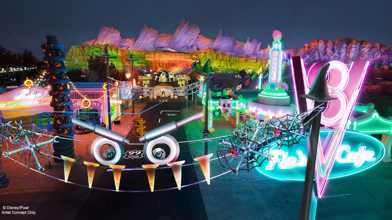 Cars Land Haul-O-Ween Celebration