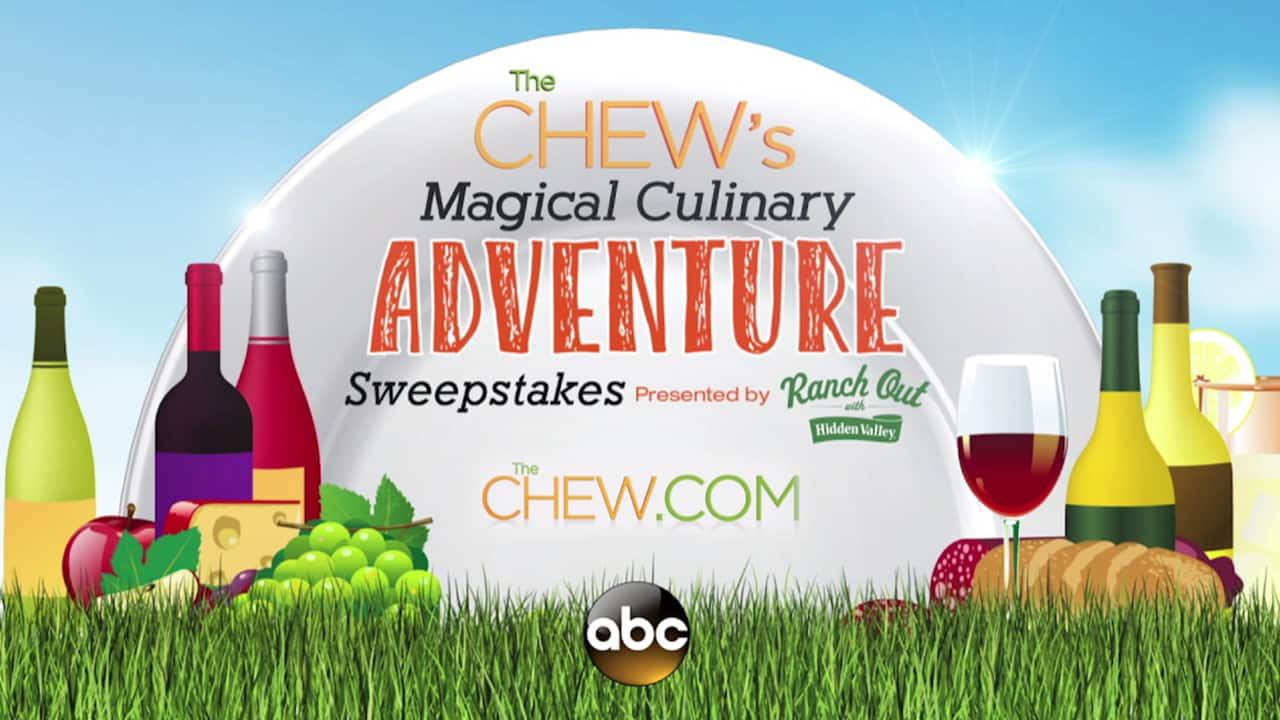 The Chew's Magical Culinary Adventure Sweepstakes