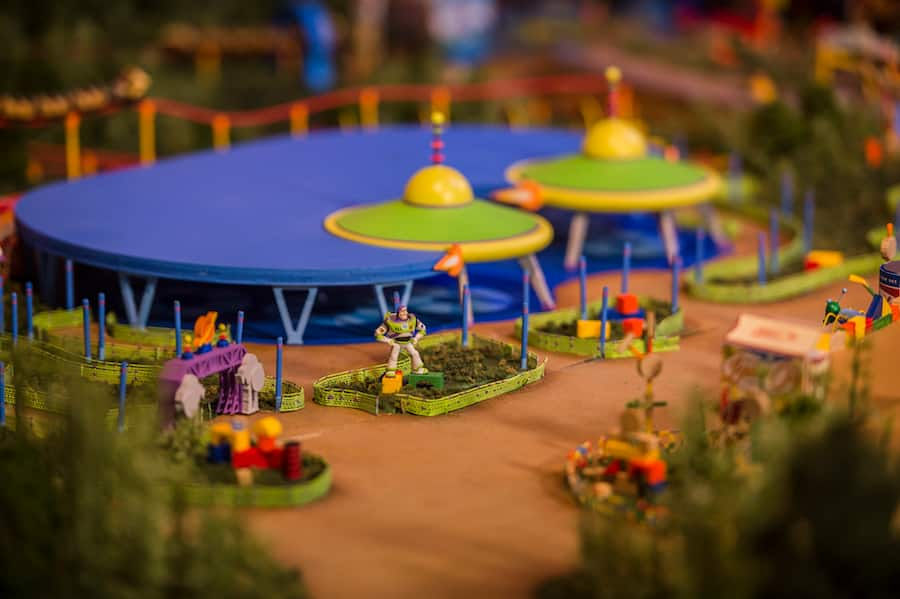 Toy Story Land Model More Now On Display At Walt Disney Presents