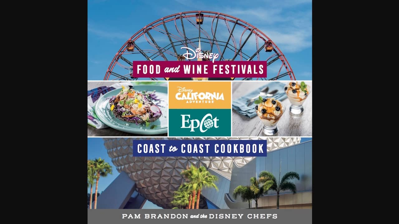 Disney Food and Wine Cookbook cover
