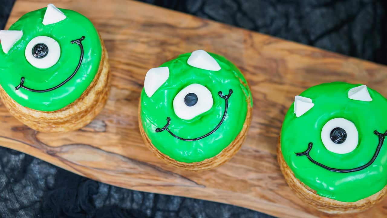 Schmoozies Monsters, Inc.-Inspired Marshmallow Donut at Disney California Adventure Park