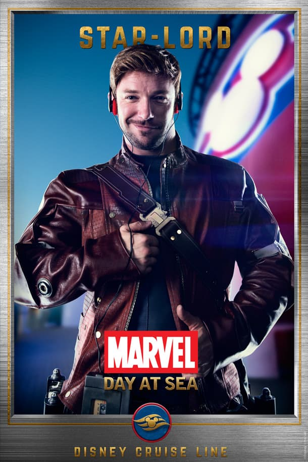 Marvel Day at Sea: Star-Lord