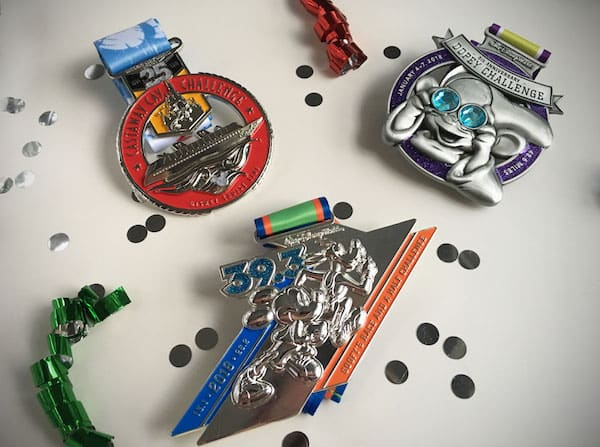 Walt Disney World Marathon Medals