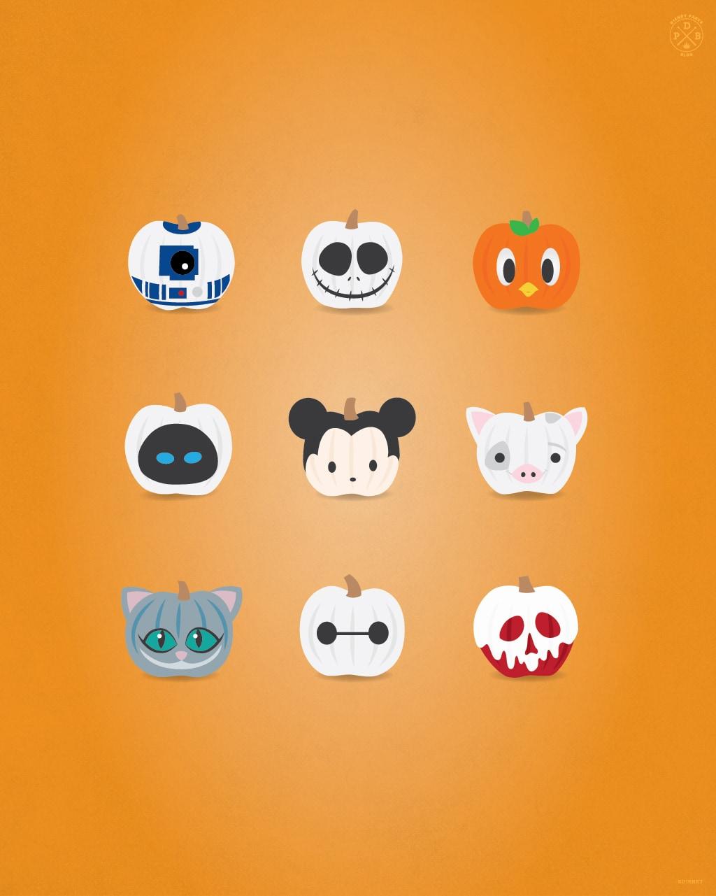 Halloween Mobile Wallpapers Disney Parks Blog