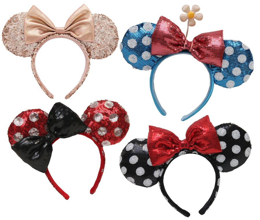bebf98ae Iconic Mouse-Eared Headwear Sparkles This Fall at Disney Parks ...