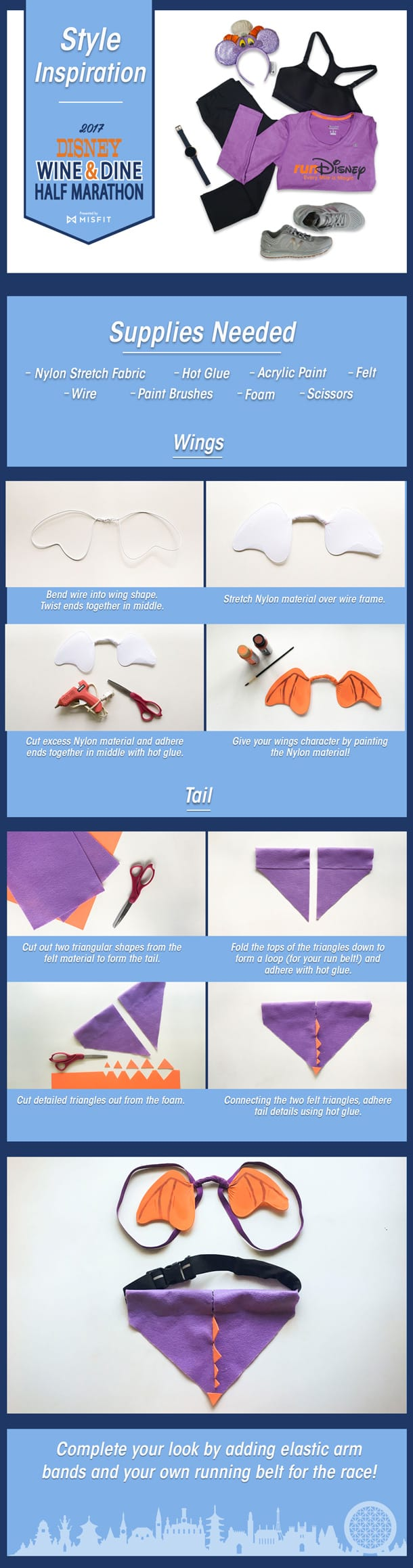 Infographic - How to make a Figment costume