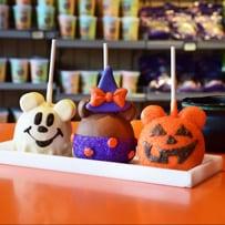 Character Apples at Candy Cauldron