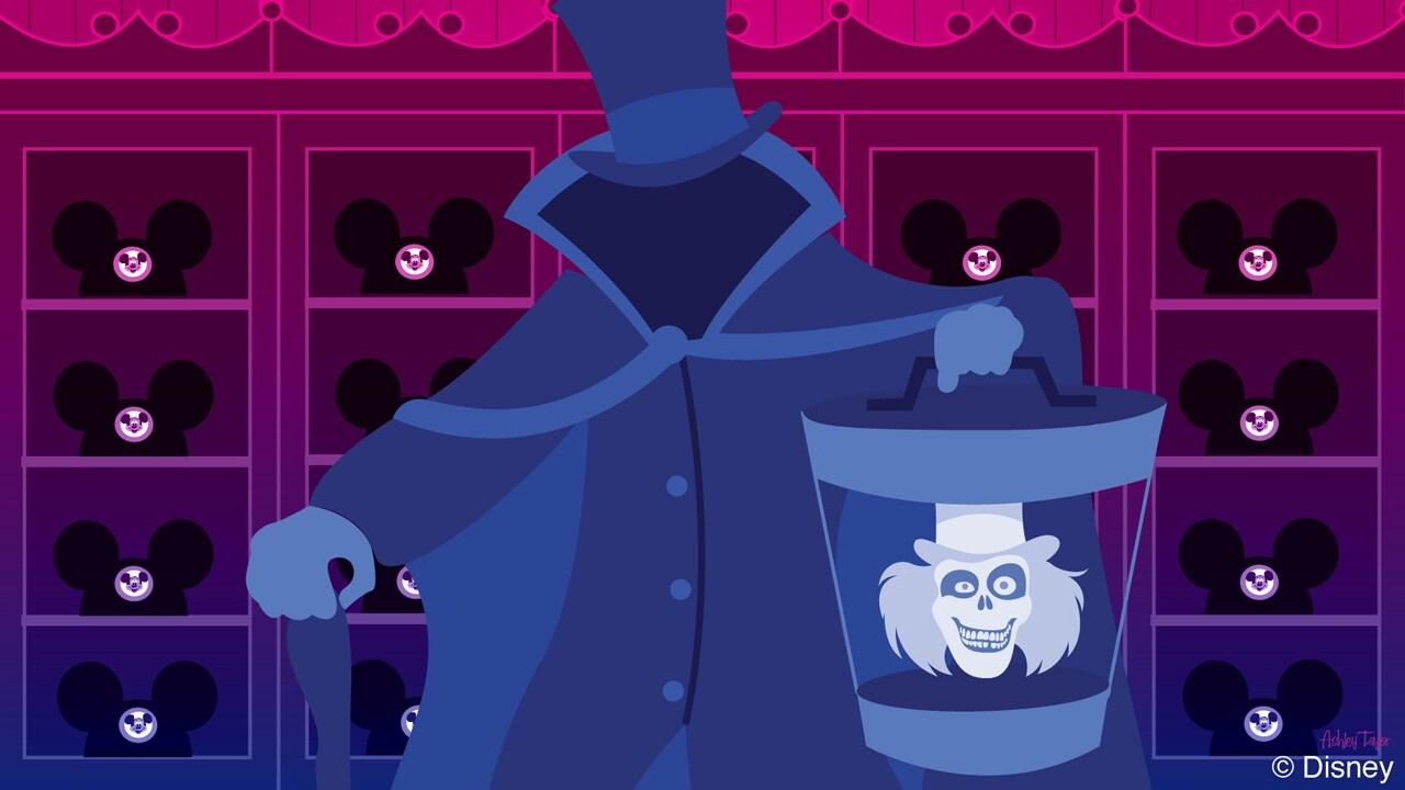 Disney Doodle: Hatbox Ghost Visits Chapeau Hat Shoppe