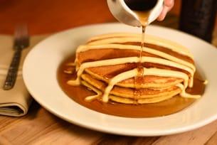 Pumpkin Pancakes at Kona Café at Disney's Polynesian Village Resort