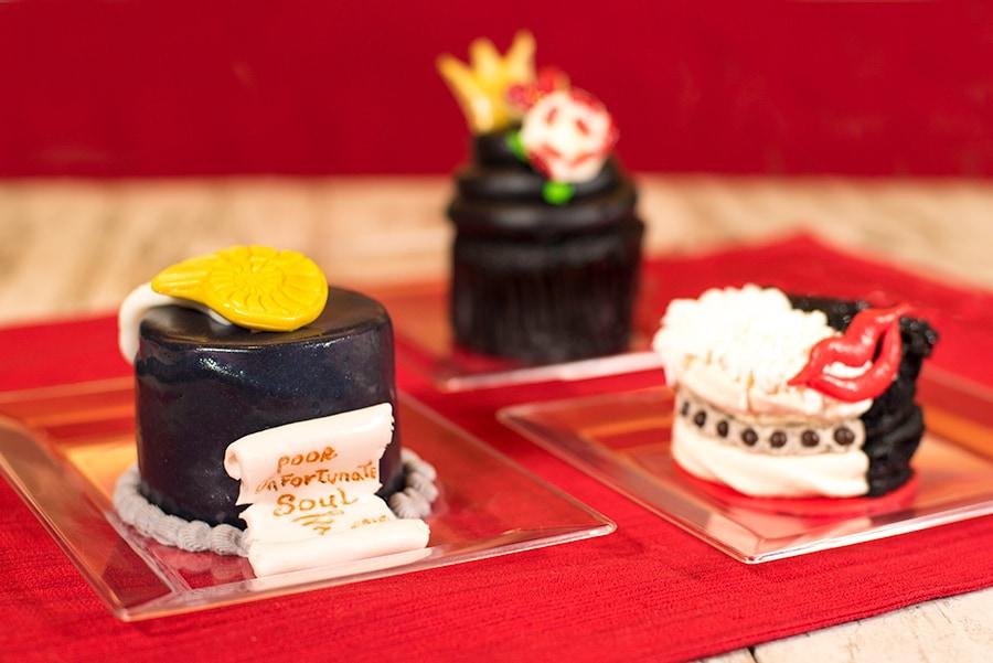 Villains Cupcakes at Sunshine Seasons in Epcot