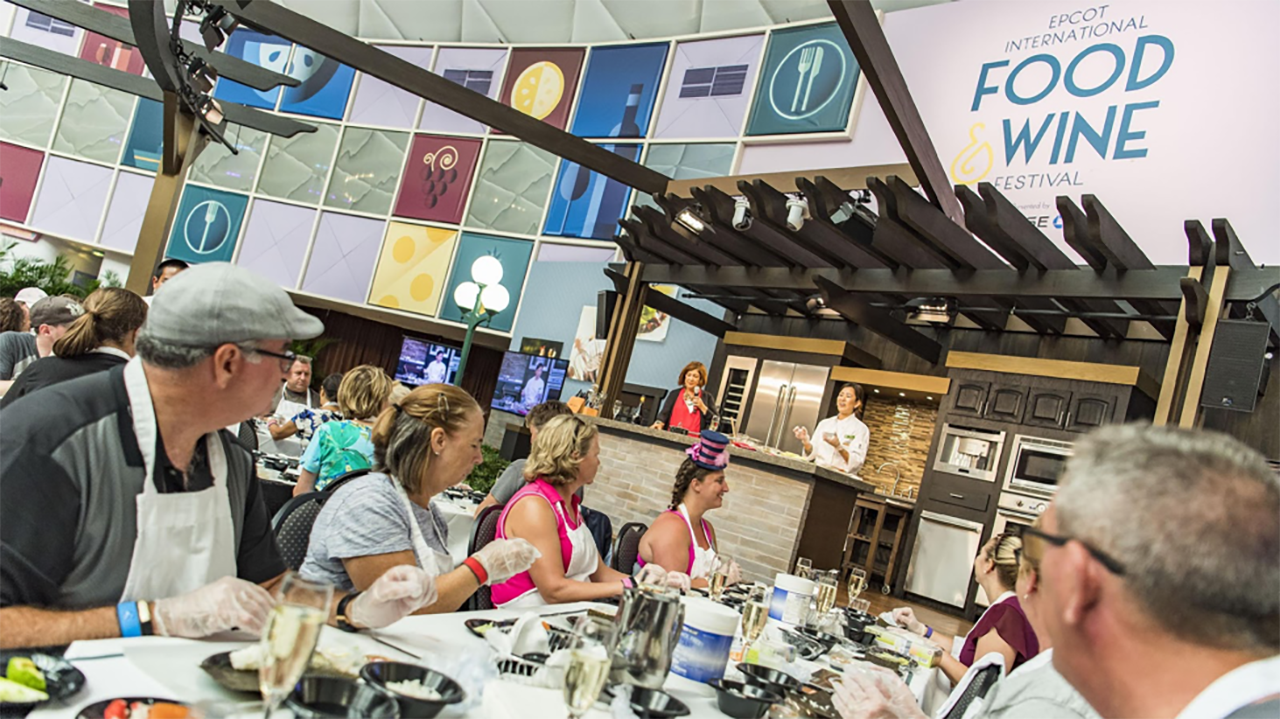 Epcot International Food and Wine Seminar at the Festival Center