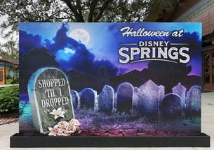 Shopped 'Til I Dropped Photo Op at Disney Springs