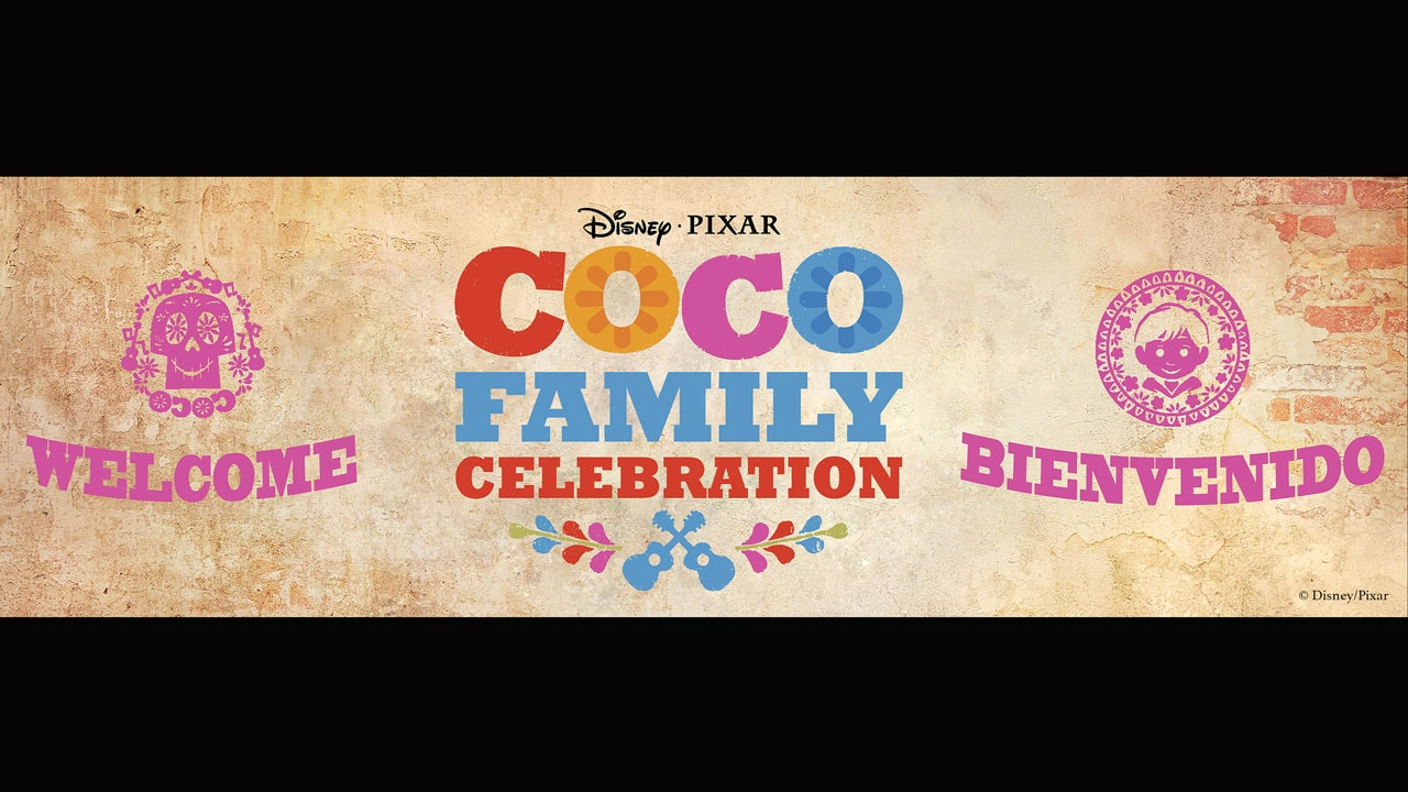"""Disney•Pixar's """"Coco"""" Family Celebration at Disney Springs"""