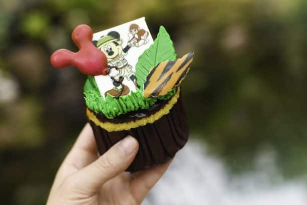 Safari Mickey Cupcake at Disney's Animal Kingdom