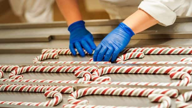Placing Candy Canes at Disneyland Resort