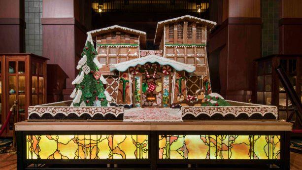 Gingerbread House at Disney's Grand Californian Hotel & Spa