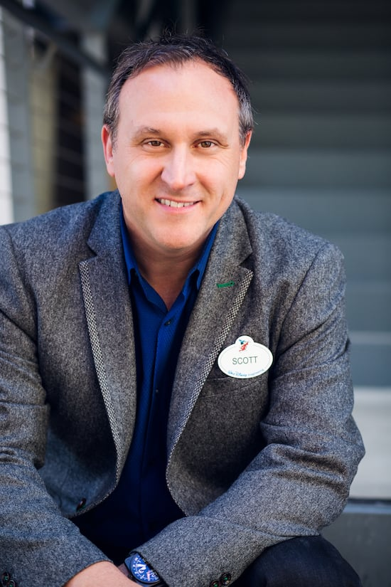 Scott Trowbridge, Portfolio Creative Executive at Walt Disney Imagineering