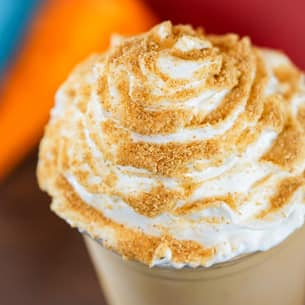 Pumpkin Pie Smoothie at Schmoozies