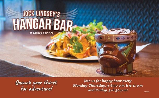 Jock Lindsey's Hangar Bar Happy Hour
