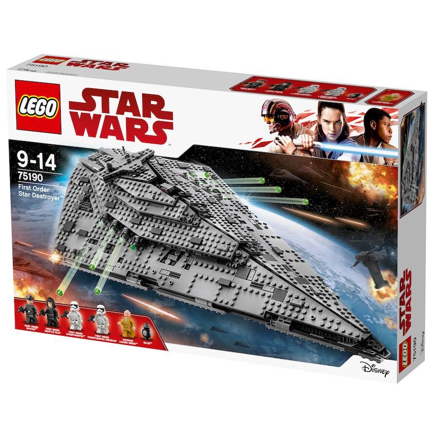 First Order Star Destroyer LEGO Set