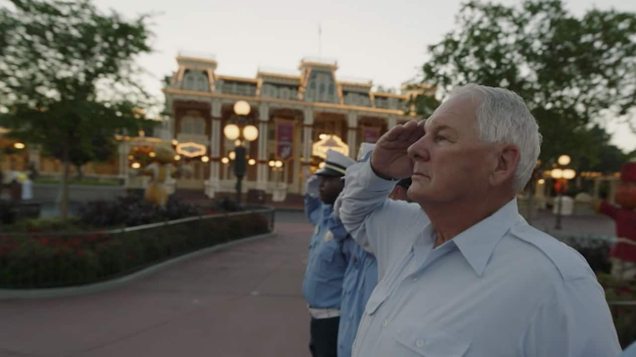 Touching Disney Flag Retreat Ceremony Inspires Special Veteran's Day Weekend Video