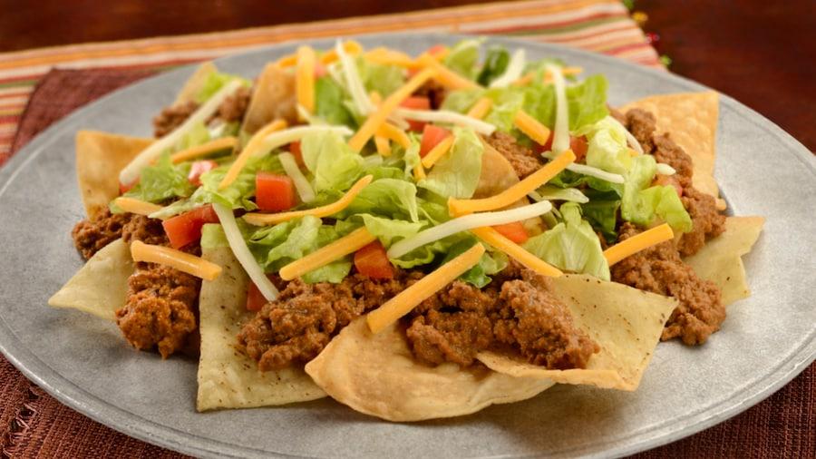 Beef Nachos at Pecos Bill Tall Tale Inn and Café in Magic Kingdom Park