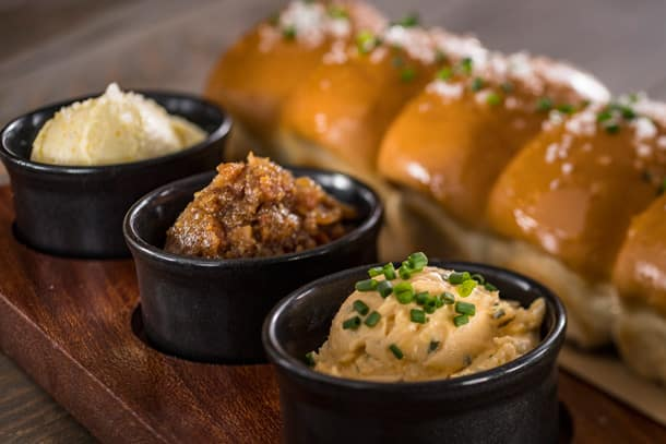 Parker House Rolls at Ale & Compass at Disney's Yacht Club Resort