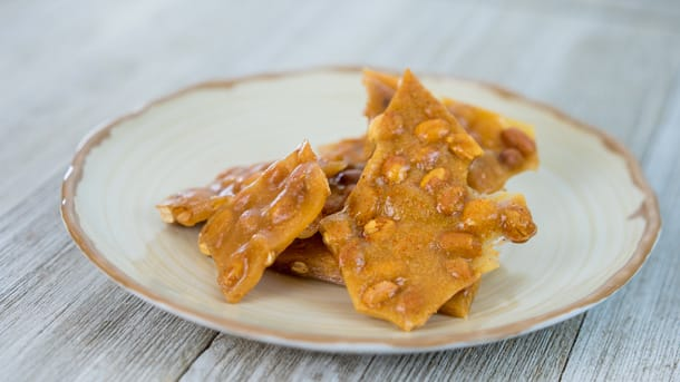 Spiced Peanut Brittle at Disney Festival of Holidays