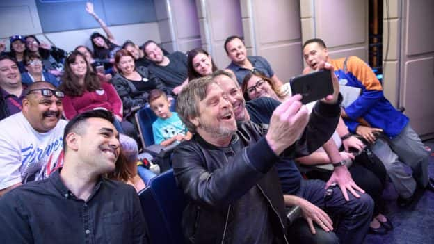 Mark Hamill Surprises Disneyland Park Guests