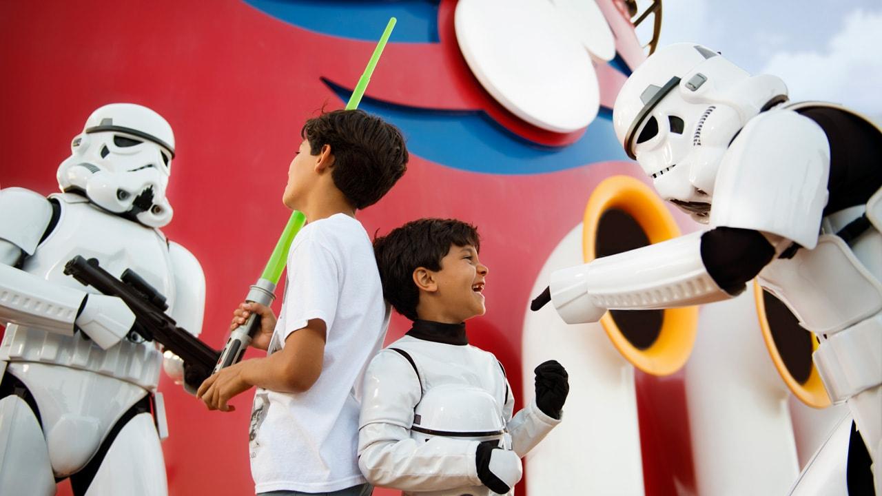 Star Wars Dat at Sea