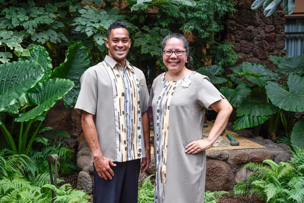 New cast costumes at Aulani, a Disney Resort & Spa