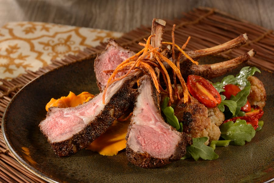 Baa Baa Berber Lamb Chops at Jungle Navigation Co. Ltd. Skipper Canteen in Magic Kingdom Park
